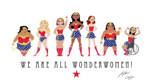 all wonderwoman