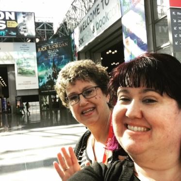 Mom and Me at BookCon